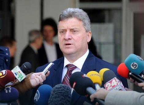 Makedonija: Demonstranti u Skoplju traže od Ivanova da ne podlegne pritiscima