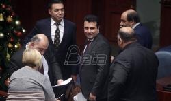 Makedonska skupština usvojila ustavne izmene o promeni imena države