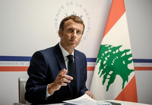 Makron: Francuska će za Liban izdvojiti 100 miliona evra u narednih godinu dana