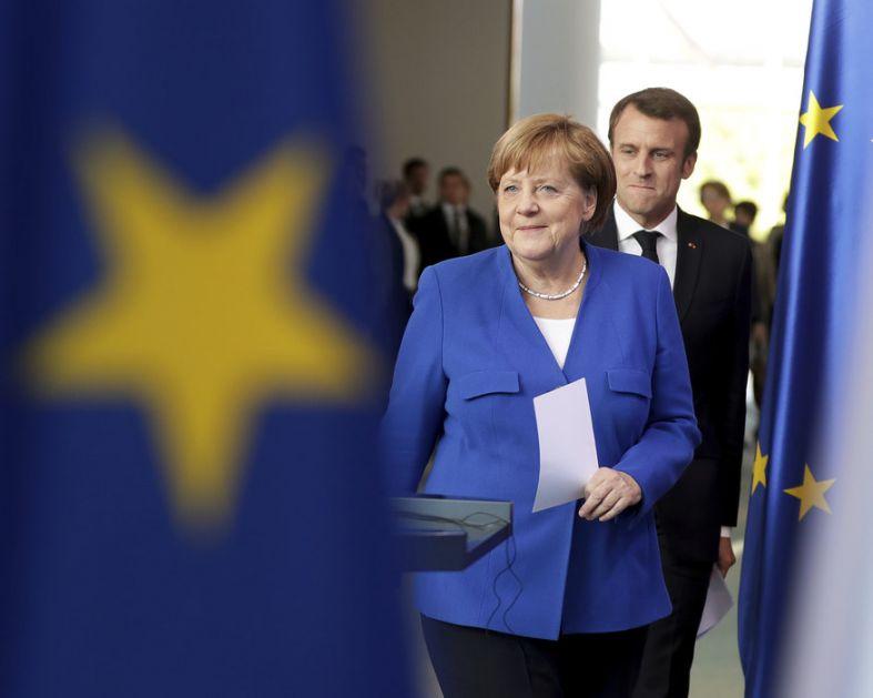 Makron i Merkel spremni da ponove samit, ohrabruju Vučića i Hotija da postignu suštinski napredak