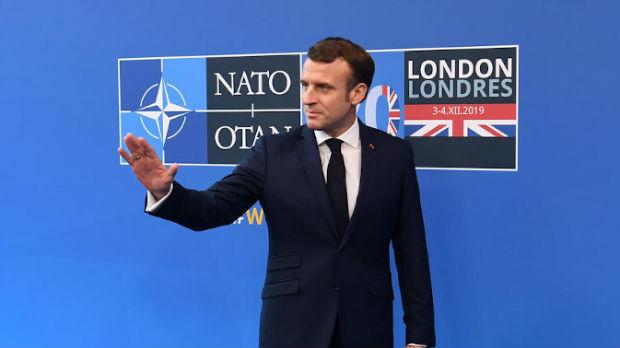 Makron ostaje pri svom komentaru da je NATO u stanju moždane smrti