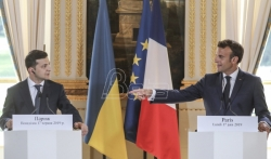 Makron pozdravio hrabrost i odlučnost novog ukrajinskog predsednika