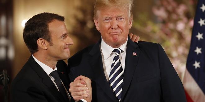 Makron prekida mušku romansu sa Trampom