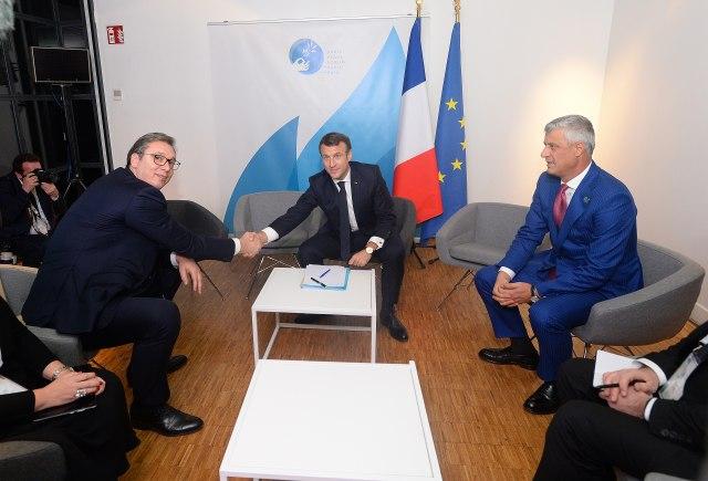 Makron rekao Vučiću: Mali Šengen dobar korak ka EU