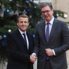 Makronovo PISMO predsedniku Vučiću: Duboko Vas poštujem! Srbija je bila ključna za okončanje RAZARAJUĆEG SUKOBA! (FOTO)