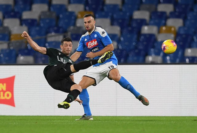 Maksimović isključen u remiju Napolija i Udinezea VIDEO