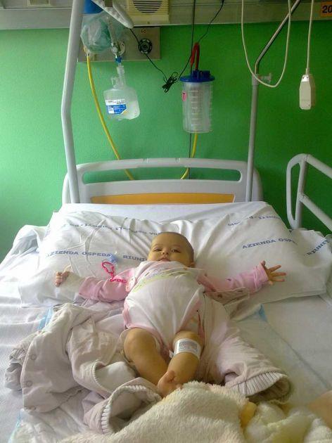 Mala Novosađanka je sa 6 meseci bila na ivici smrti, danas je živa zbog roditelja, prijatelja i italijanskog premijera