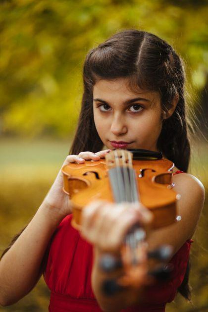 Mala Novosađanka svira violinu od 4. godine i ima više od 40 prvih mesta na takmičenjima