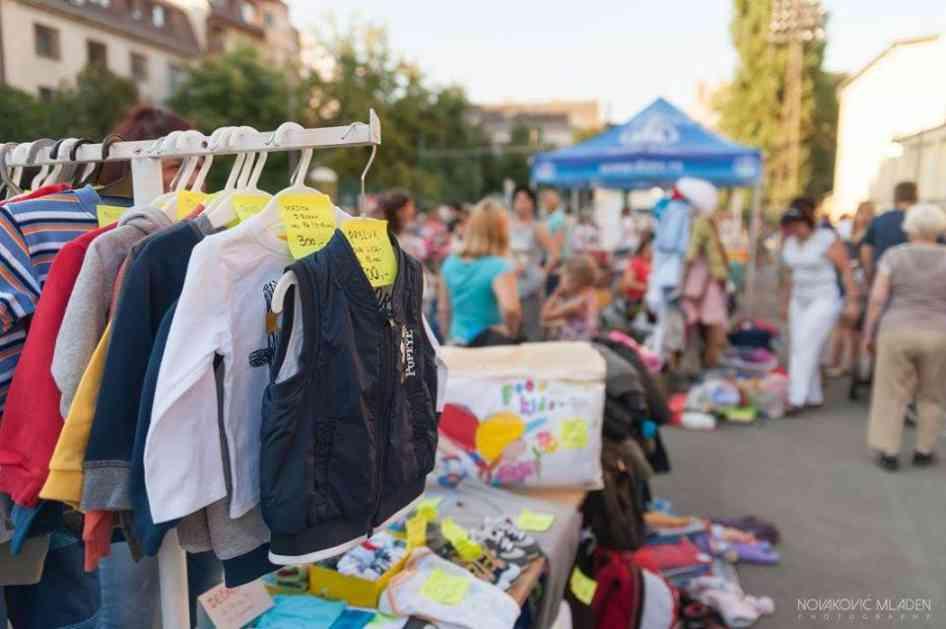 Mamin bazar u subotu na Štrandu