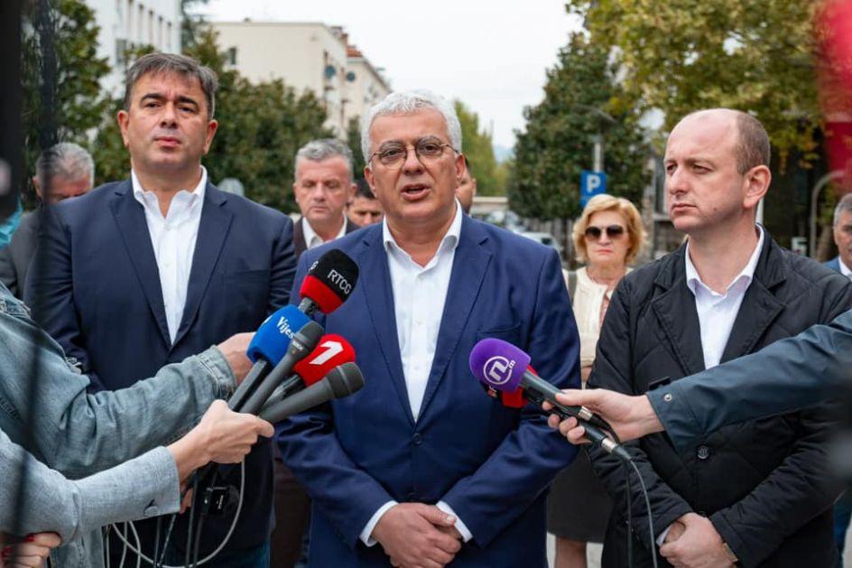 Mandić: Neću dozvoliti da tajkuni ukradu narodnu volju i sastavljaju vladu