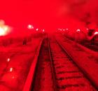 Manijaci sjajnom bakljadom proslavili 100. rođendan Željezničara VIDEO