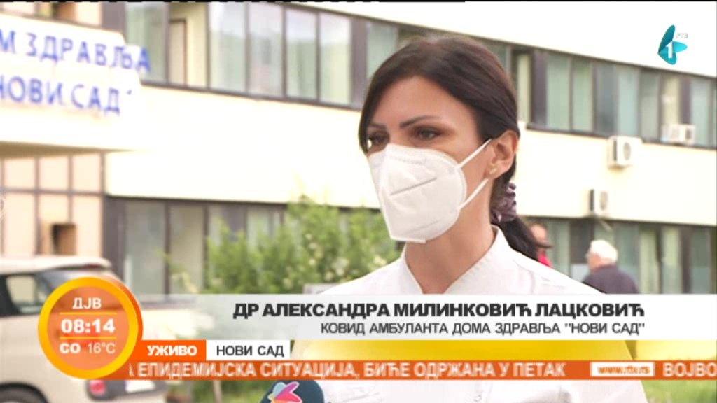 Manji broj pregleda u novosadskoj kovid ambulanti