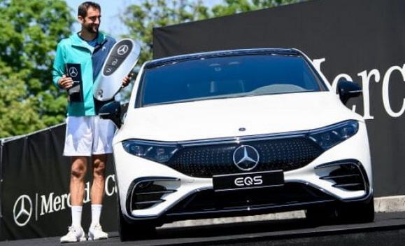 Marin Čilić osvojio ATP turnir u Štutgartu i dobio električni Mercedes EQS