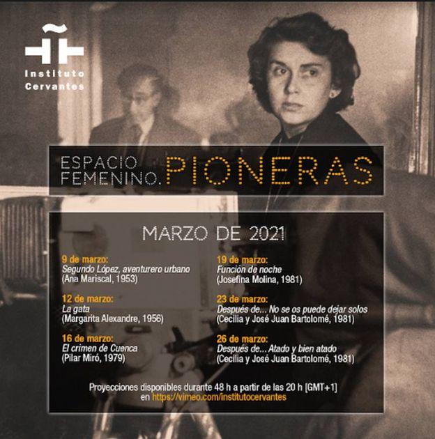 Mart u znaku pionirki španske kinematografije