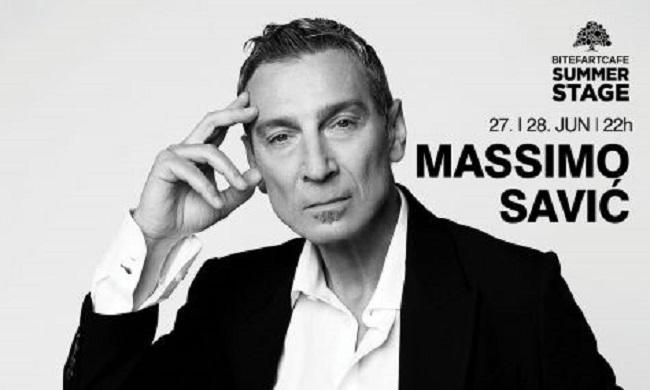 Masimo Savić 27. i 28. juna u Beogradu