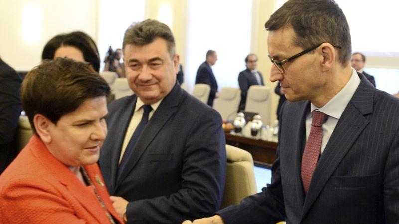 Mateuš Moravjecki imenovan za novog premijera Poljske
