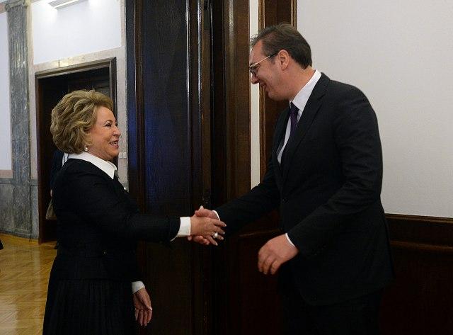 Matvijenko: Mnoge zemlje trpe pritiske i nemaju privilegiju kao Srbija