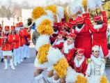 Mažoretkinje iz Herceg Novog najavile Praznik mimoze defileom kroz Niš