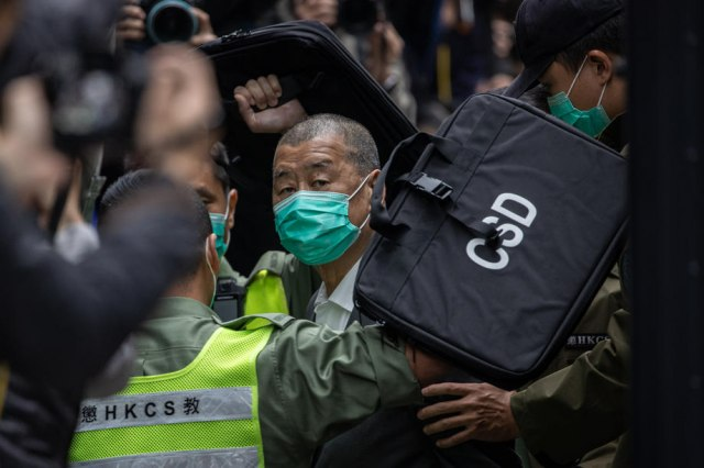 Medijski magnat osuđen na godinu dana zbog prodemokratskih protesta