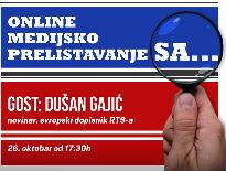 Medijsko prelistavanje sa Dušanom Gajićem
