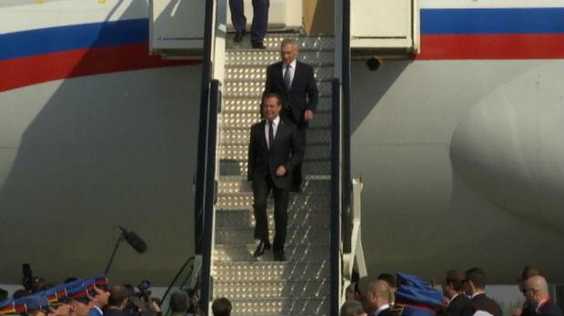 Medvedev u Beogradu – obeležavanje 75 godina od oslobođenja i podrška saradnji