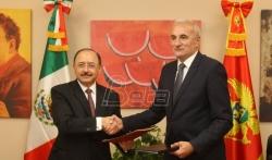 Meksiko i Crna Gora potpisali Memorandum o razumevanju o diplomatsko-akademskoj saradnji (VIDEO)