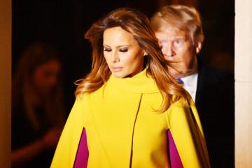 Melanija Tramp za susret sa kraljicom odabrala kaput od 5.000 evra (foto)