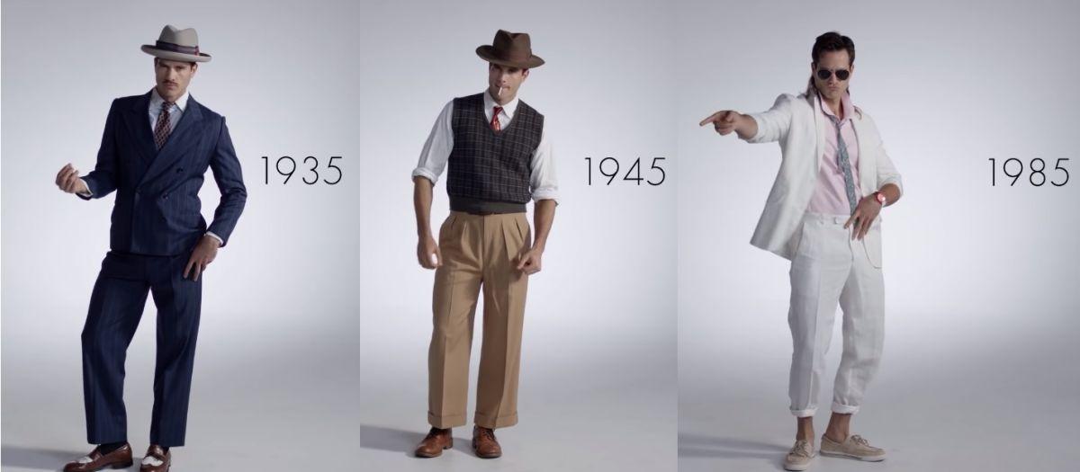 Menjanje trendova s godinama – evo kako se muška moda promenila u poslednjih 100 godina