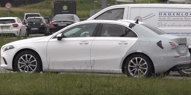 Mercedes A klase Sedan stiže u Evropu