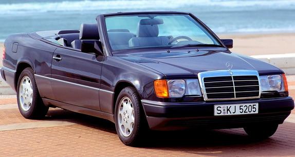 Mercedes E klase Cabrio W124 ove godine slavi 30. rođendan