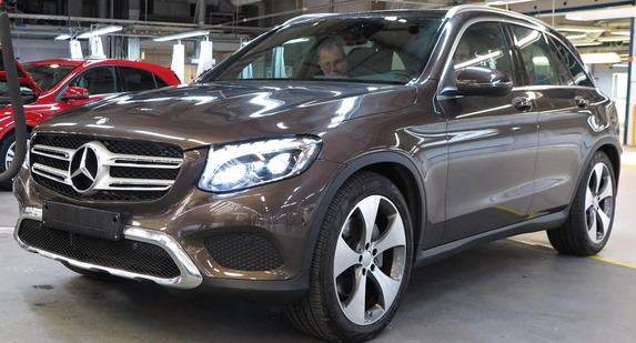 Mercedes GLC će uskoro Amerikancima dolaziti iz Indije
