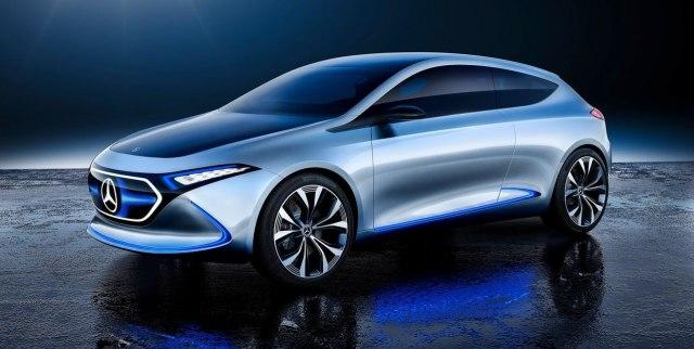 Mercedes najavio električnu varijantu GLA za 2020.