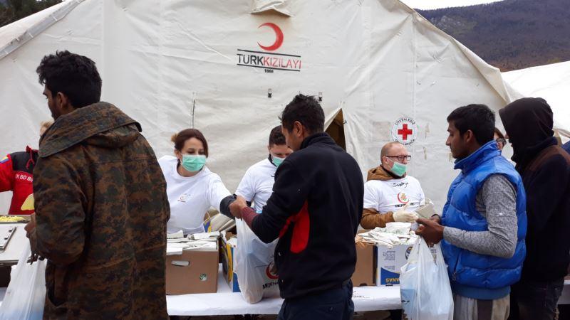 Merhametova pomoć migrantima u Vučjaku