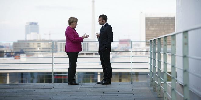 Merkel i Makron pozivaju na oprez povodom korone