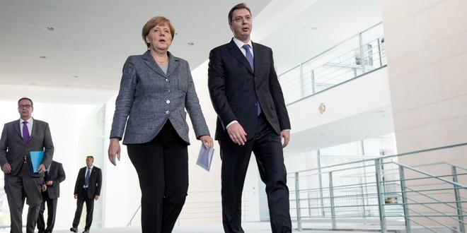 Merkel traži susret s Vučićem u Njujorku