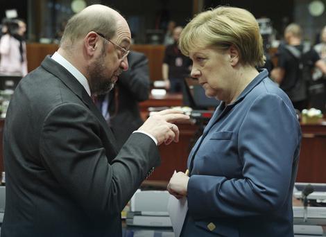 Merkelova ponovo odbila Šulcov poziv na novi TV duel