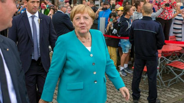 Merkelova se nada da će je pamtiti po trudu