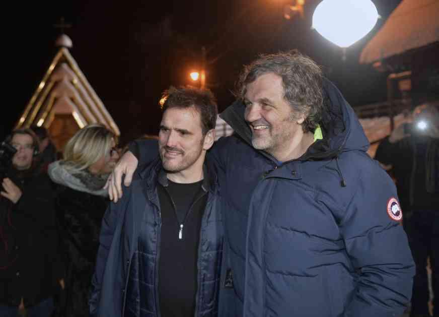 Met Dilon u Drvengradu: Nikada nisam imao ovakav doček, Srbija mi se već sviđa