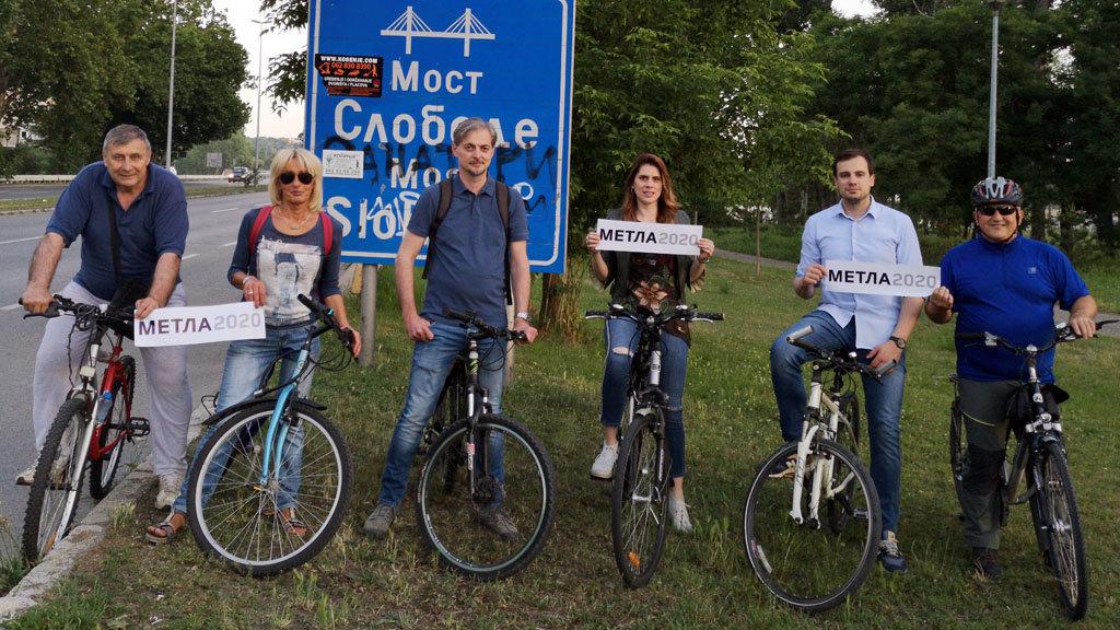 Metla: Omogućićemo prohodnost mosta Slobode za bicikliste