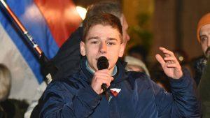 Mičel (NDI) osudio privođenje aktiviste Milana Vujića i napade na Crtu