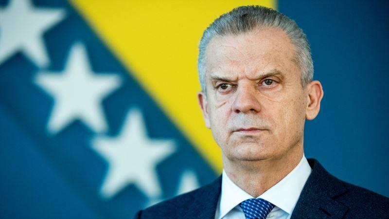 Migranti i Respiratori među razlozima najavljene ostavke ministra sigurnosti BiH