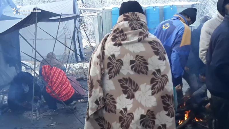 Migranti u kampu Vučjak četvrti dan odbijaju hranu