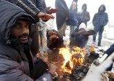 Migrantima nije mesto u zaštićenom rezervatu prirode: Meštani deliblata blokirali put traktorima
