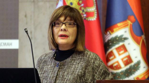 Osuda novih verbalnih napada na Maju Gojković