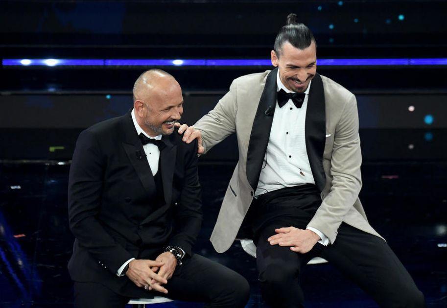 Mihajlović i Ibrahimović pevali na Sanremu