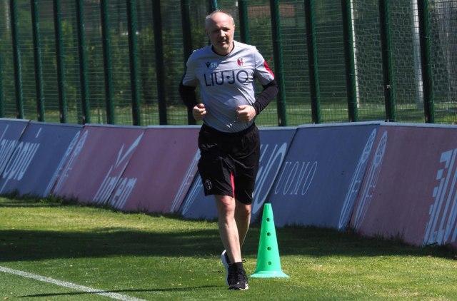 Mihajlović trenira skoro kao igrači Bolonje