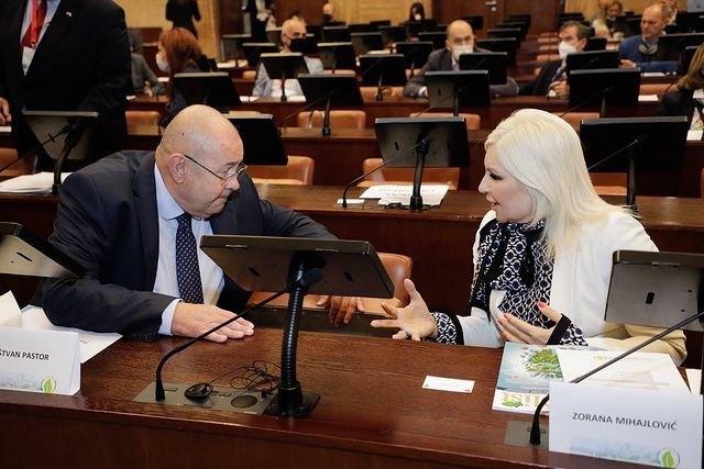 Mihajlovićeva: Zelena agenda je iznad politike