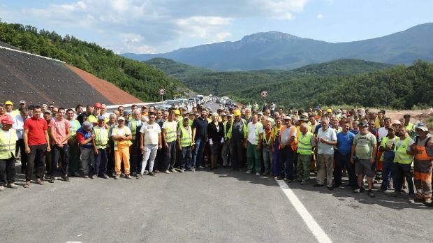 Mihajlovićeva ponosna na radnike na Koridoru 10
