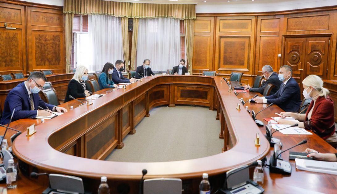 Mihajlovićeva sa predstavnicima Transnafte o izgradnji naftovoda