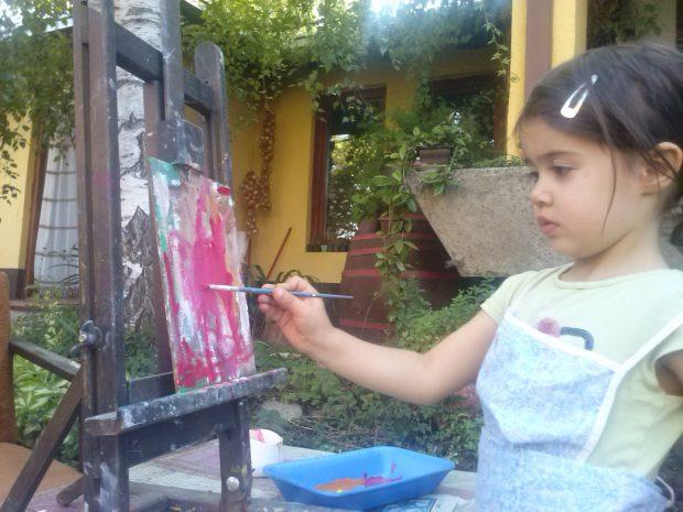 Mila Đorđević od najranijeg detinjstva stvara neverovatne crteže